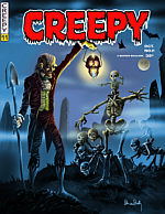 CLICK HERE FOR THE LOST CREEPY STORY BY PETE VON SHOLLY