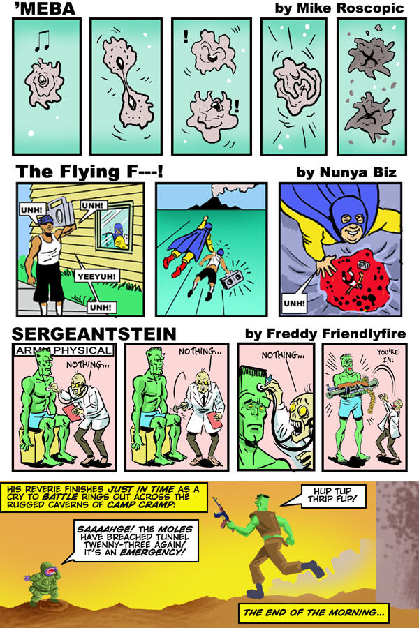 CLICK IMAGE TO PREVIEW PETE VON SHOLLY'S SERGEANTSTEIN: PAGE 5 OF 8