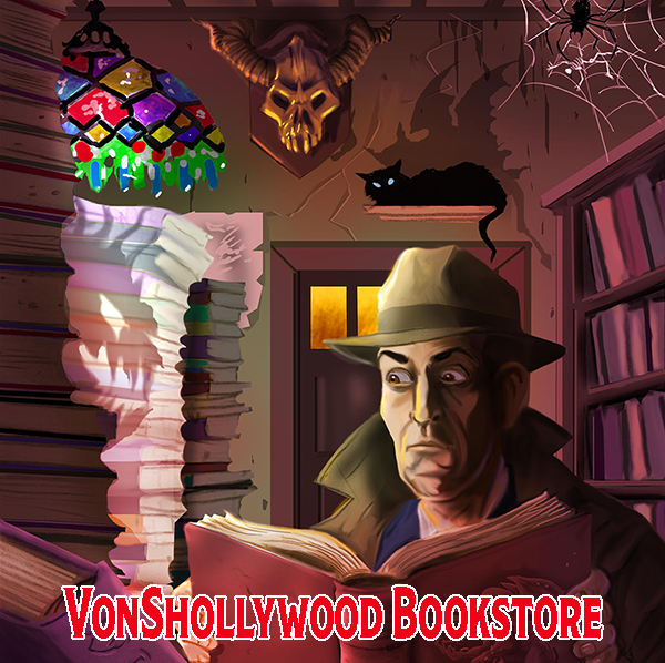 Enter The VonShollywood Bookstore