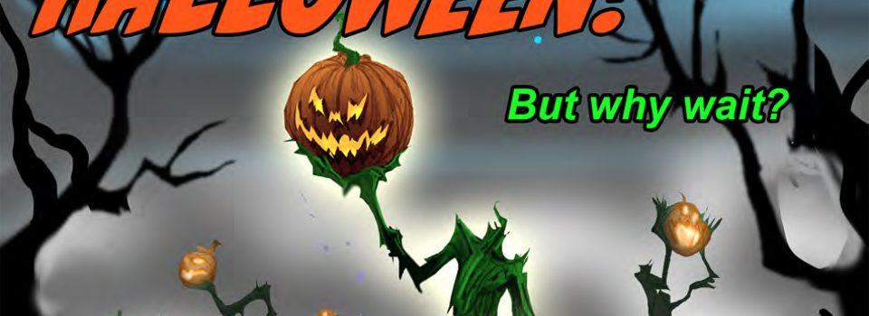 Welcome to the Halloween exhibit!